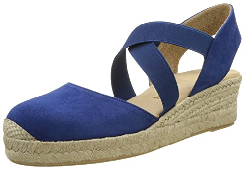 Unisa Cele_KS, Alpargatas para Mujer, Azul (Persia), 39 EU: Amazon.es: Zapatos y complementos