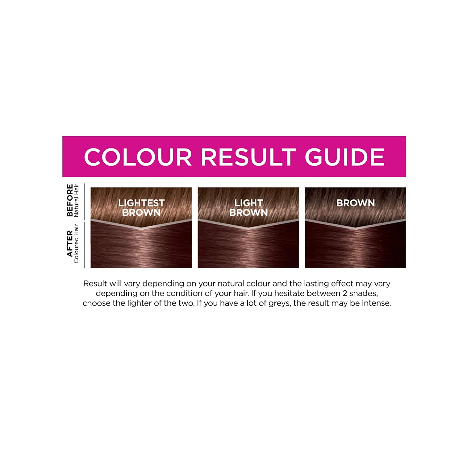Loreal Casting Creme Gloss 323 Dark Chocolate Brown Semi Permanent