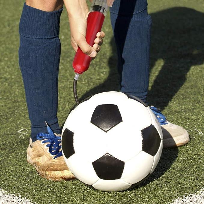 Leezo Bomba de Aire portátil para balones de Baloncesto, fútbol ...
