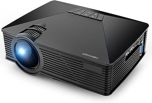 Amazon.com: DBPOWER GP15 Proyector, 1500 lúmenes LCD ...