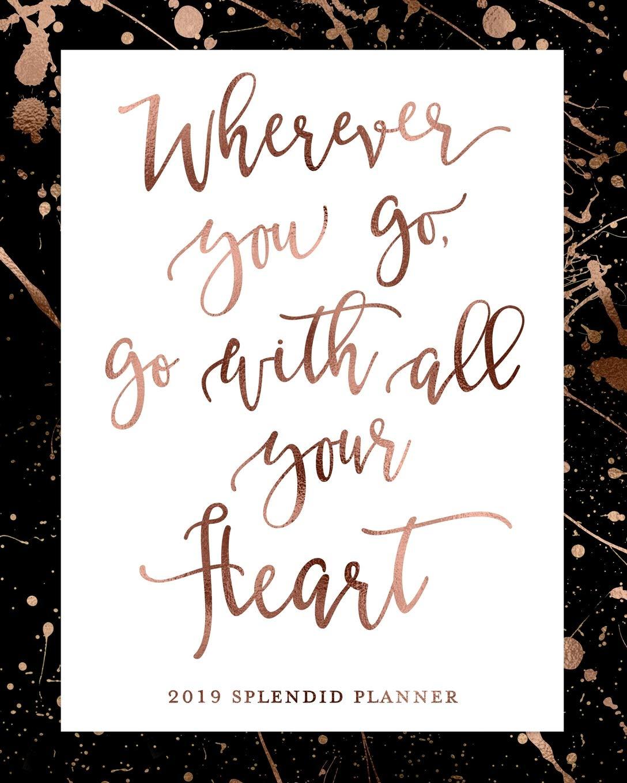 Amazon.com: Wherever You Go, Go With All Your Heart 2019 ...