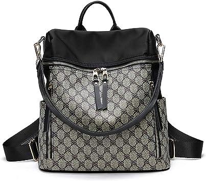 DEI QI Messenger Bags Shoulder Bag Backpack Men Casual Shorts Bag Purse Chest Bag Travel Bag Black Business Working PU Square Package