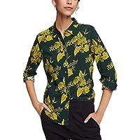 Scotch & Soda Blumen-Print Hemd Dames Overhemd