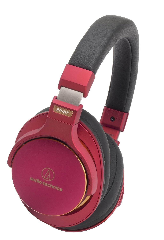 audio-technica 密閉型ポータブルヘッドホン ハイレゾ音源対応 限定レッドカラー ATH-MSR7 LTD  限定レッド B00OTADU72