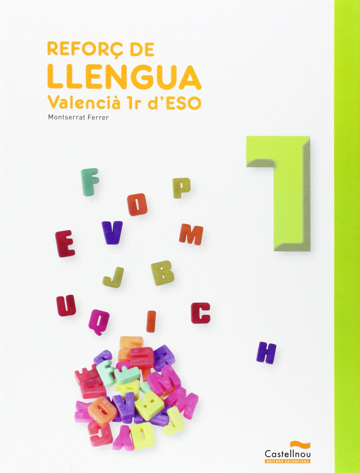 Reforç De Llengua. Valencià. 1R ESO - 9788483453797: Amazon ...