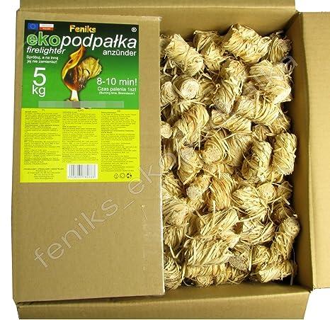 Pastillas - Encendedores de barbacoa Feniks unidades en la caja 500., para chimeneas,
