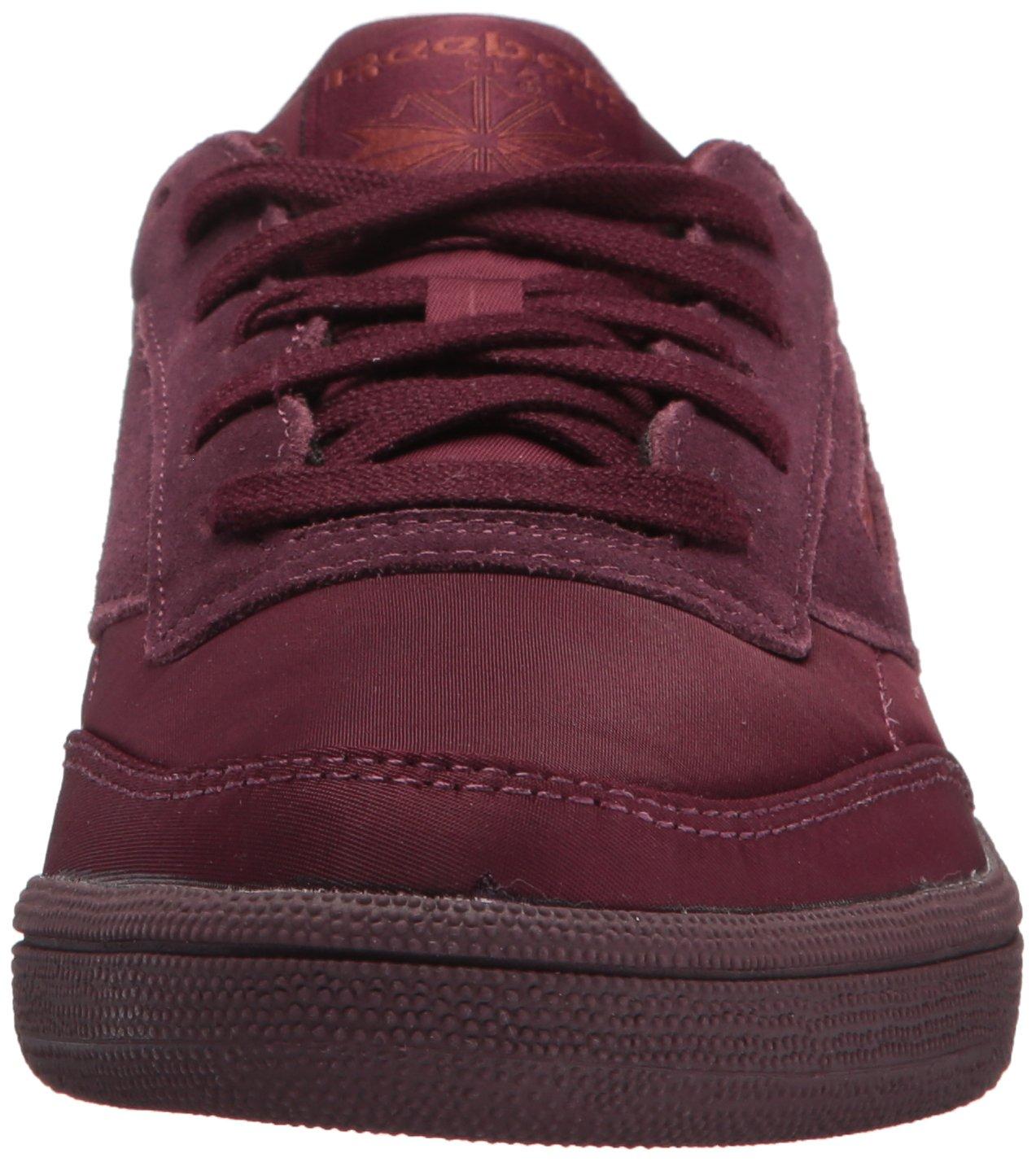 Reebok Women's Club C 85 Soft Sneaker B074TSLKW4 8.5 B(M) US|Dark Red/Rust Met