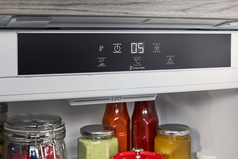 Bosch Kühlschrank Temperatureinstellung : Bauknecht krie a einbau kühlschrank l nutzinhalt leise
