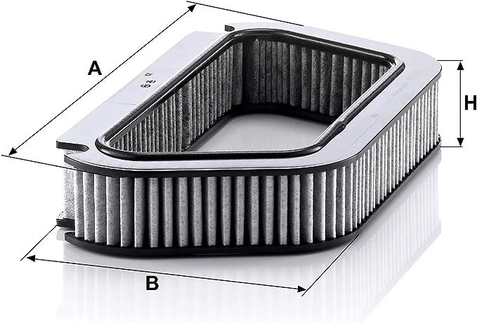 Original Mann Filter Innenraumfilter Cuk 4136 Pollenfilter Mit Aktivkohle Für Pkw Auto