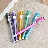 Faxco 6 Pcs Colorful Pen Like Erasers,Retractable