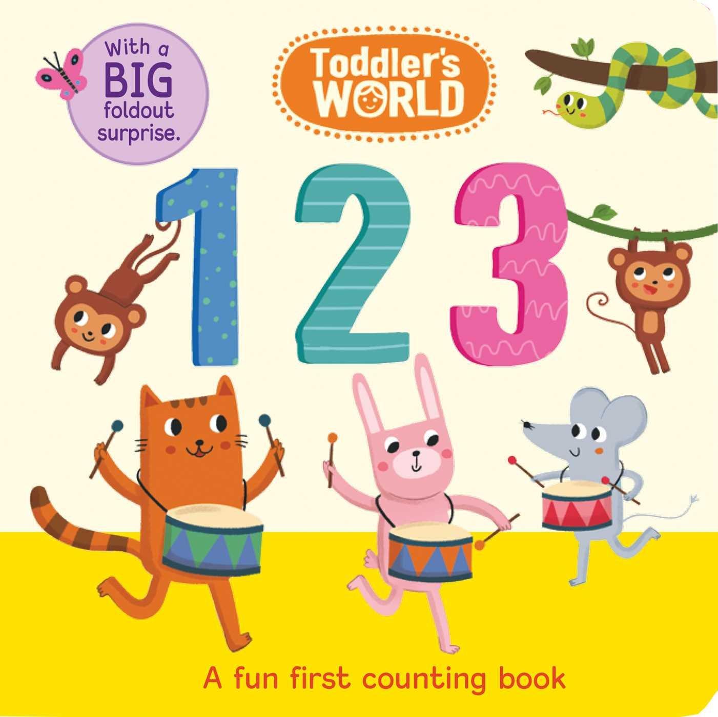 Toddler's World: 123 PDF