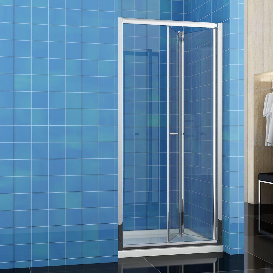 SUNNY SHOWER Bi-Fold Shower Door 29.5\