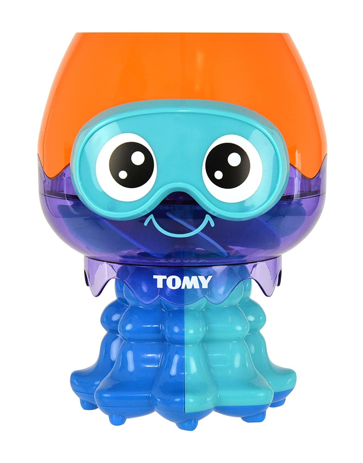 TOMY Bath E72548 Splash and Spin Jellyfish Toy
