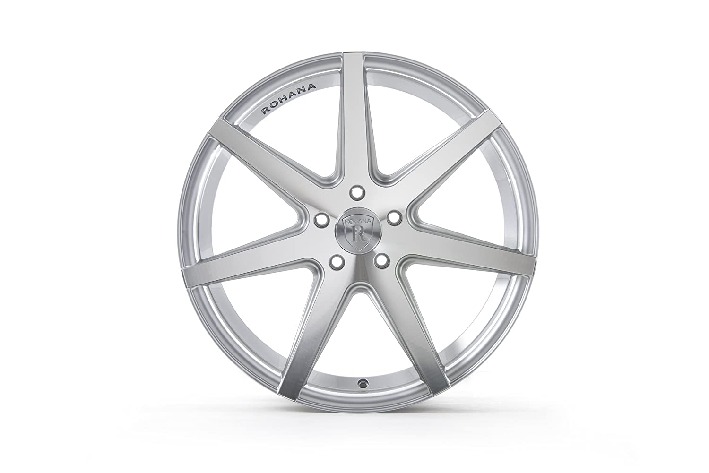 20x10//5x114.3mm, +25mm offset Rohana Wheels RC7 Wheel with Machined Finish