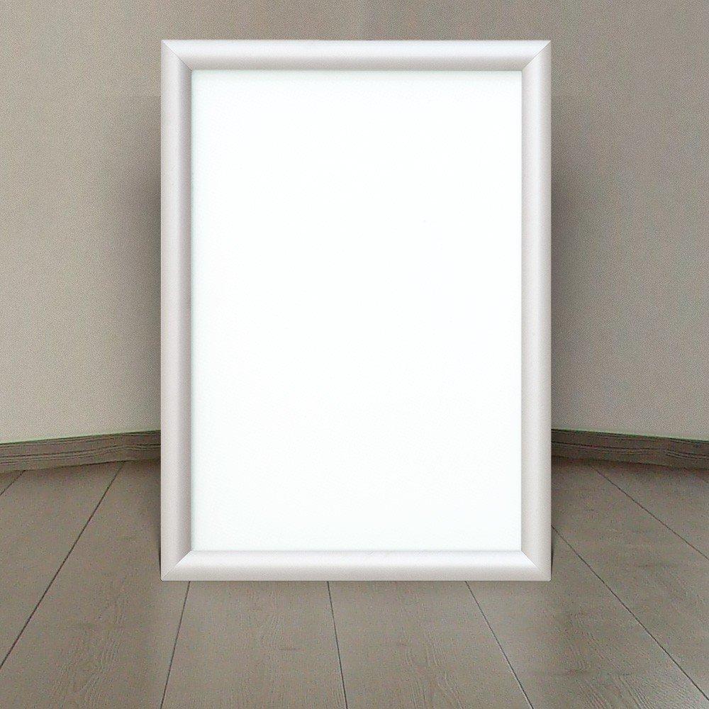 LED Alu Klapprahmen Ultraslim DIN A3 Wechselrahmen Plakatrahmen ...