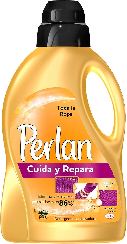 Perlan Detergente Líquido Cuida y Repara – Pack de 4, Total: 100 ...
