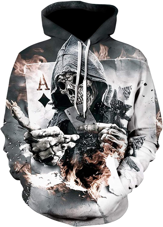 Men Custom Unisex Sweatshirt 3D Printed Pullovers Hoodies Plus Size Casual Hooded Sweatshirt,2,5XL