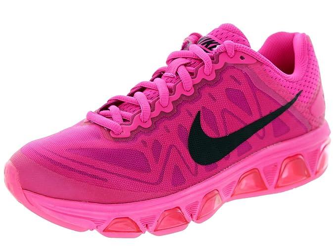 3ba53aed4192ef Amazon.com  Nike Women s Air Max Tailwind 7 Pink Foil Blk Pnk Pw Fchs Flsh Running  Shoe 6 Women US  Sports   Outdoors