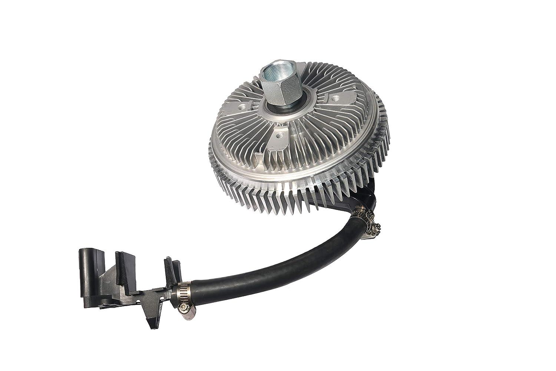 Electronic Radiator Fan Clutch - with Harness - Fits Chevy Trailblazer 2002-2009, EXT, GMC Envoy, Buick Rainier, Isuzu Ascender, Bravada, Saab 9-7x - Replaces 25790869, 622-001, 15-40133, 15293048