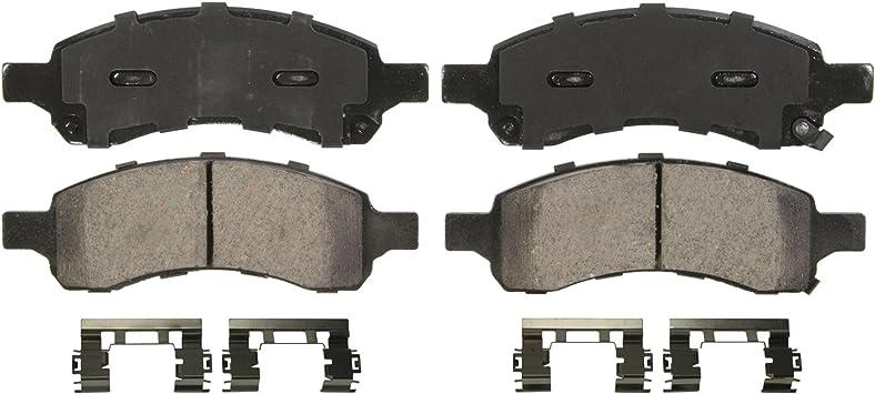 Wagner QuickStop ZD883 Ceramic Disc Pad Set Rear
