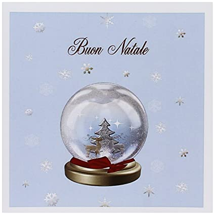 How To Say Merry Christmas In Italian.Amazon Com 3drose Snow Globe Deer Tree And Snowflakes
