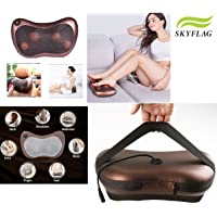 SkyFlag Cushion Full Body Massager With Heat For Pain Relief - Swiss Relaxation Therapy