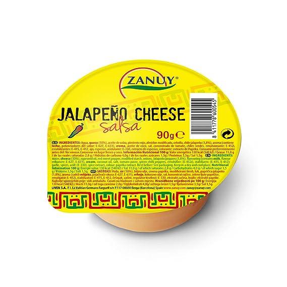 Zanuy Salsa Queso Jalapeño - 90 gr