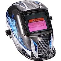 Careta Soldar Automatica, Casco de Soldadura de Color Verdadero con Función de Protección de Oscurecimiento Y Energía…