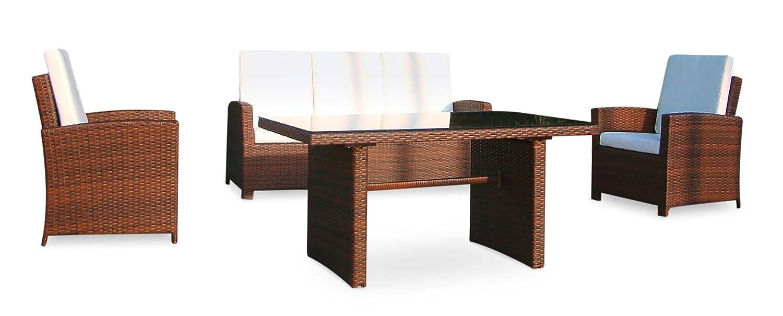Amazon.de: Baidani Gartenmöbel-Sets 10c00039.00001 Designer Rattan ...