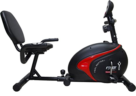 FYTTER Bicicleta Estática Recubike Rc-03R Negro: Amazon.es ...