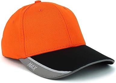 Trendy Apparel Shop High Visibility Performance Safeguard Reflective Ball Cap