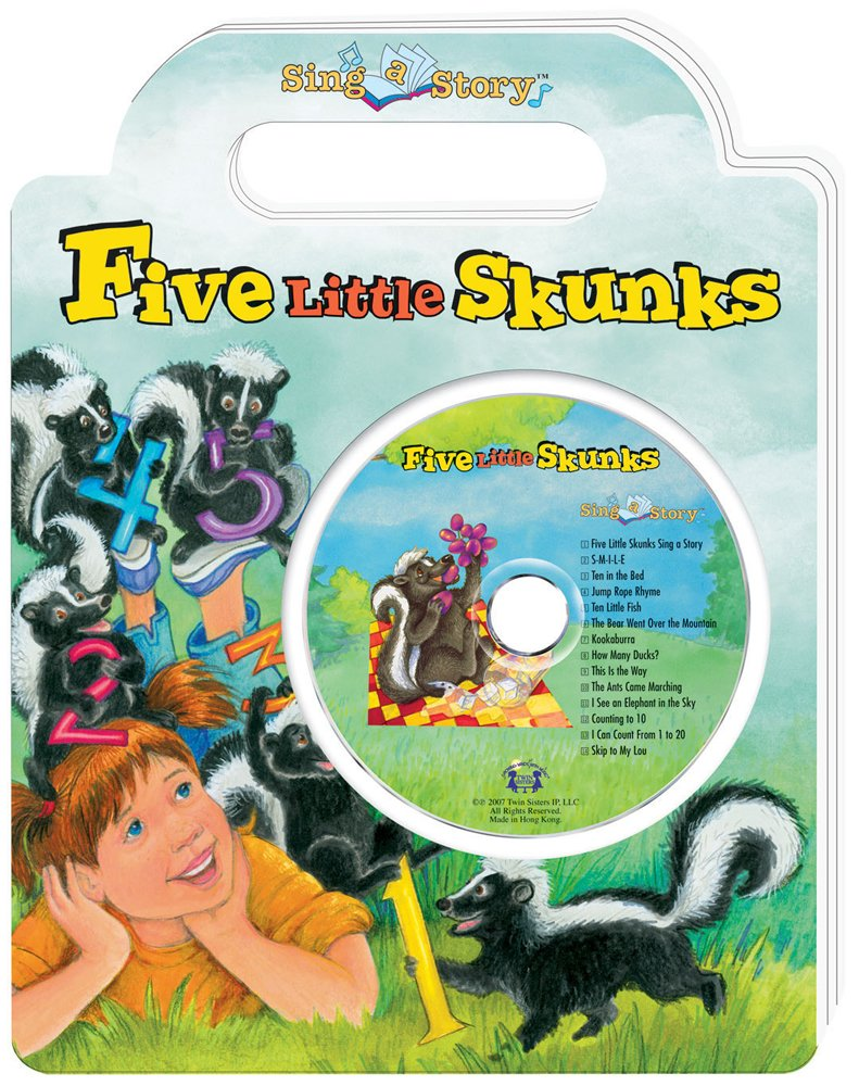 Five Little Skunks Sing a Story Handled Board Book with CD pdf