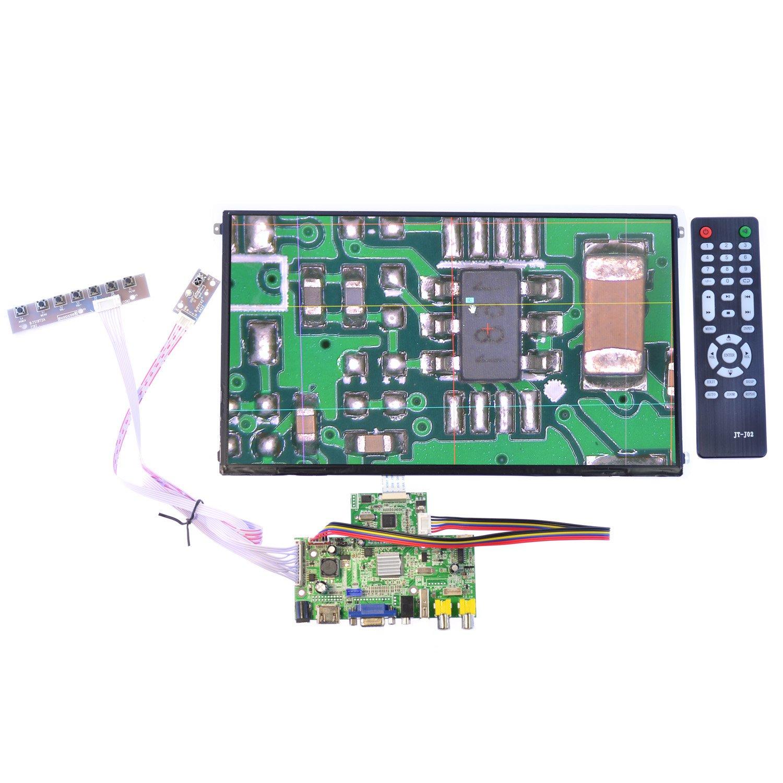 13.3 inch 1080P LCD Screen Monitor Display Module LTN133HL01-301 Multimedia Driver Board Kit HDMI/VGA/AV/Audio/USB FPV Input Driver Board