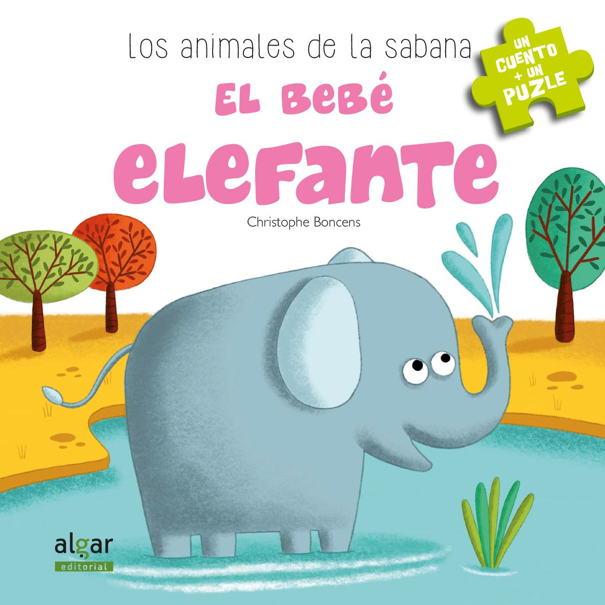 492814f97a2 ANIMALES DE LA SABANA BEBE ELEFANTE: Christophe Boncens ...