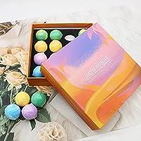Badbommen Gift Set, 16 hij geuren badparels stellen voor vrouwen en kinderen, Natural Bath Bomb om te ontspannen…