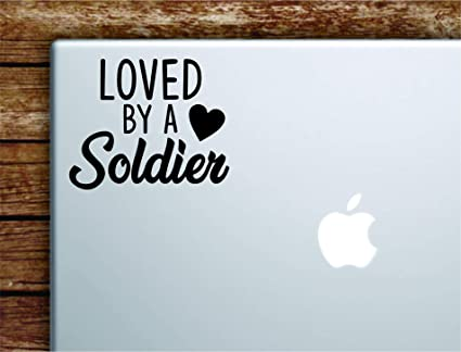 Amazon.com: Loved by A Soldier Laptop Apple MacBook Car ...