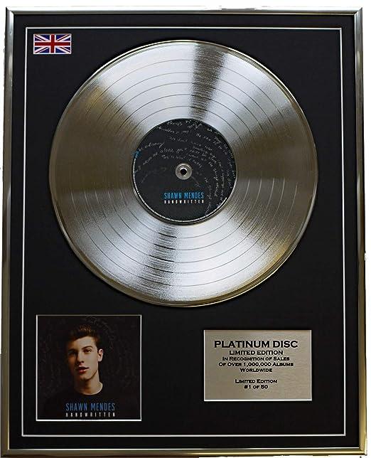 everythin gcolle ctible Shawn Mendes/edición Limitada Platino ...