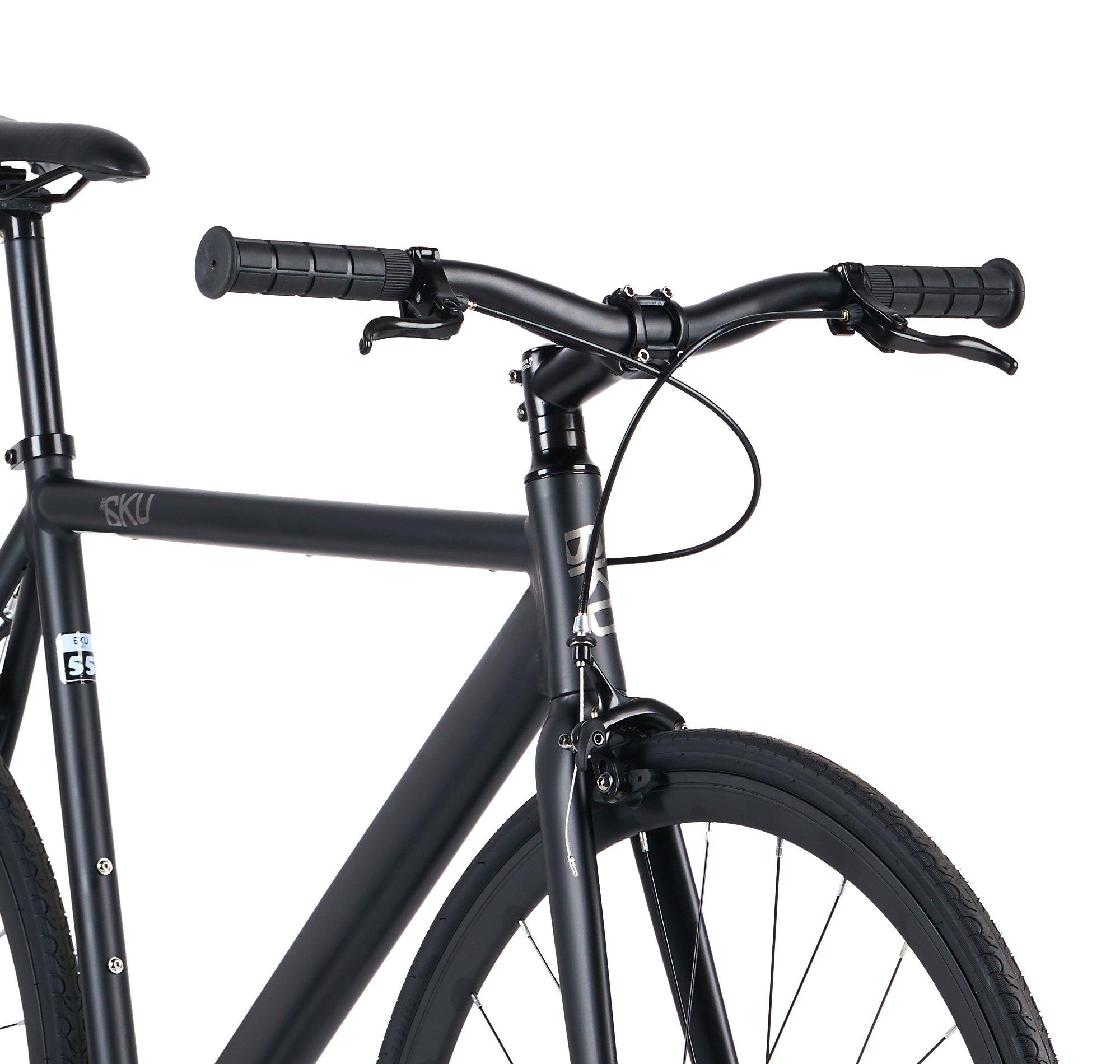 6ku Aluminum Fixed Gear Single Speed Fixie Urban Track Bike Edgar Bikes Us Shop