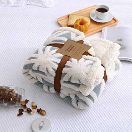 Image Unavailable. Image not available for. Color  Cotton Blankets Double  Layer ... 3e7bd5816