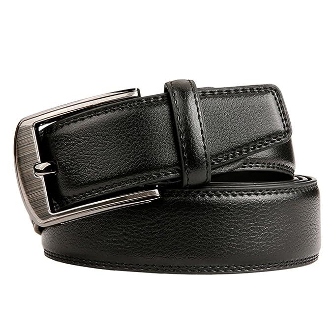 scarpe di separazione 65b75 ff1f2 HOADOAOIFSA Uomo Cintura,Lunga Pin fibbie Tempo libero ...