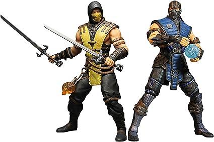 Amazon.com: Mezco Juguetes cifras de Acción Mortal Kombat X ...