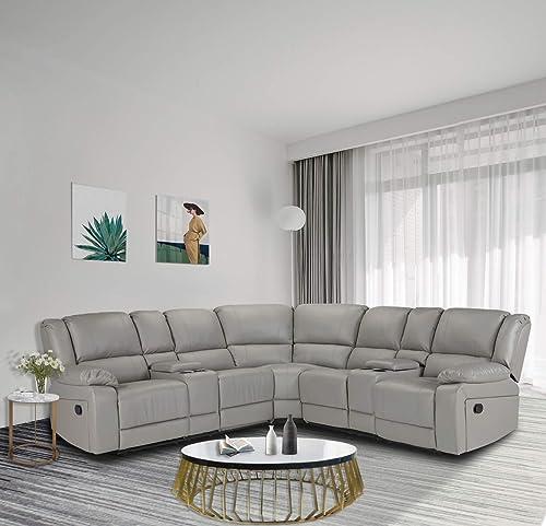 Alapaste Sectional Sofa Motion Sofa
