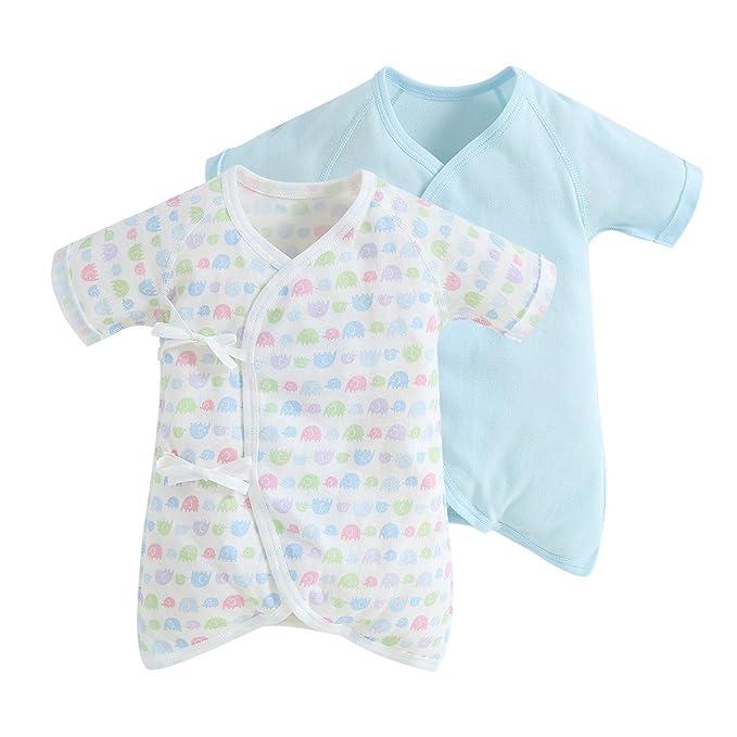 83d1127480ac Amazon.com  Lionbear Baby Rompers Kimono Robe Japanese Pajamas ...