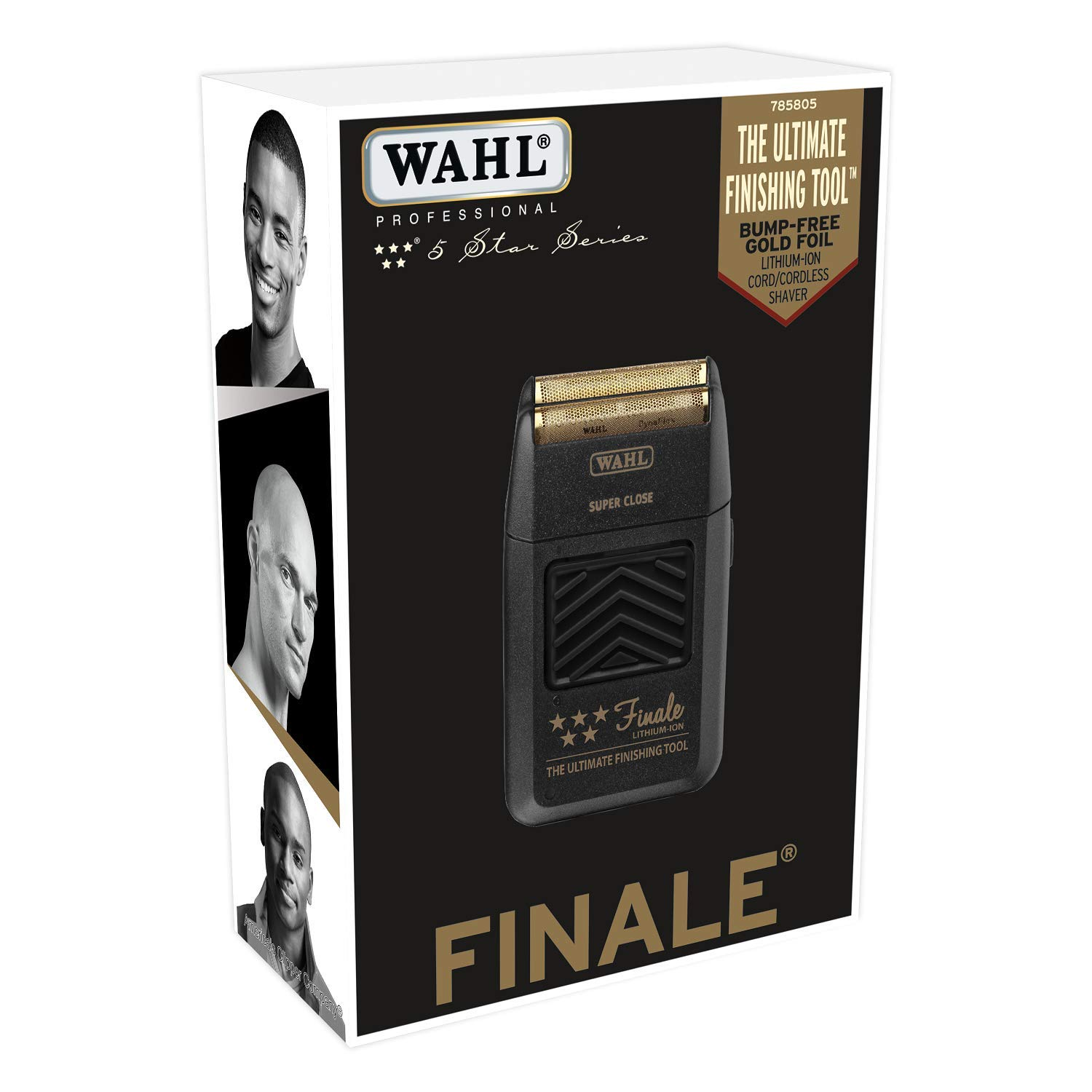 a140210c7 Amazon.com: Wahl Professional 5-Star Series Finale Finishing Tool #8164 -  Great for Professional Stylists and Barbers - Super Close - Black: Beauty