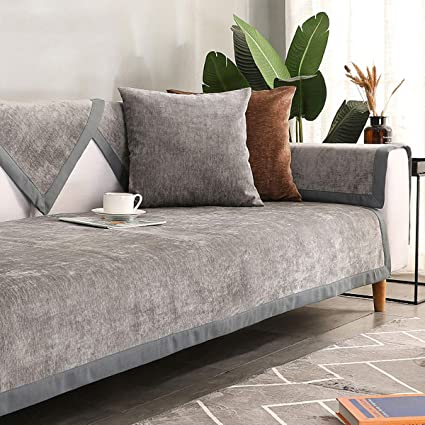 Liziyu Funda de sofá [Antideslizante] Couch Cover Tela Four ...