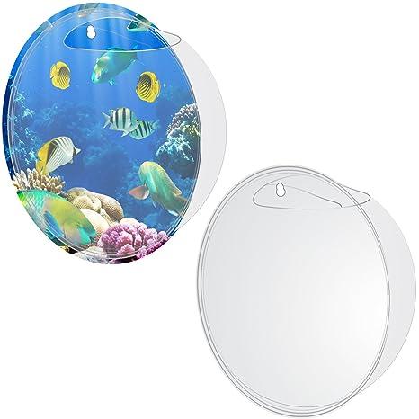 mewtogo peces burbujas – acrílico de pared para Pecera