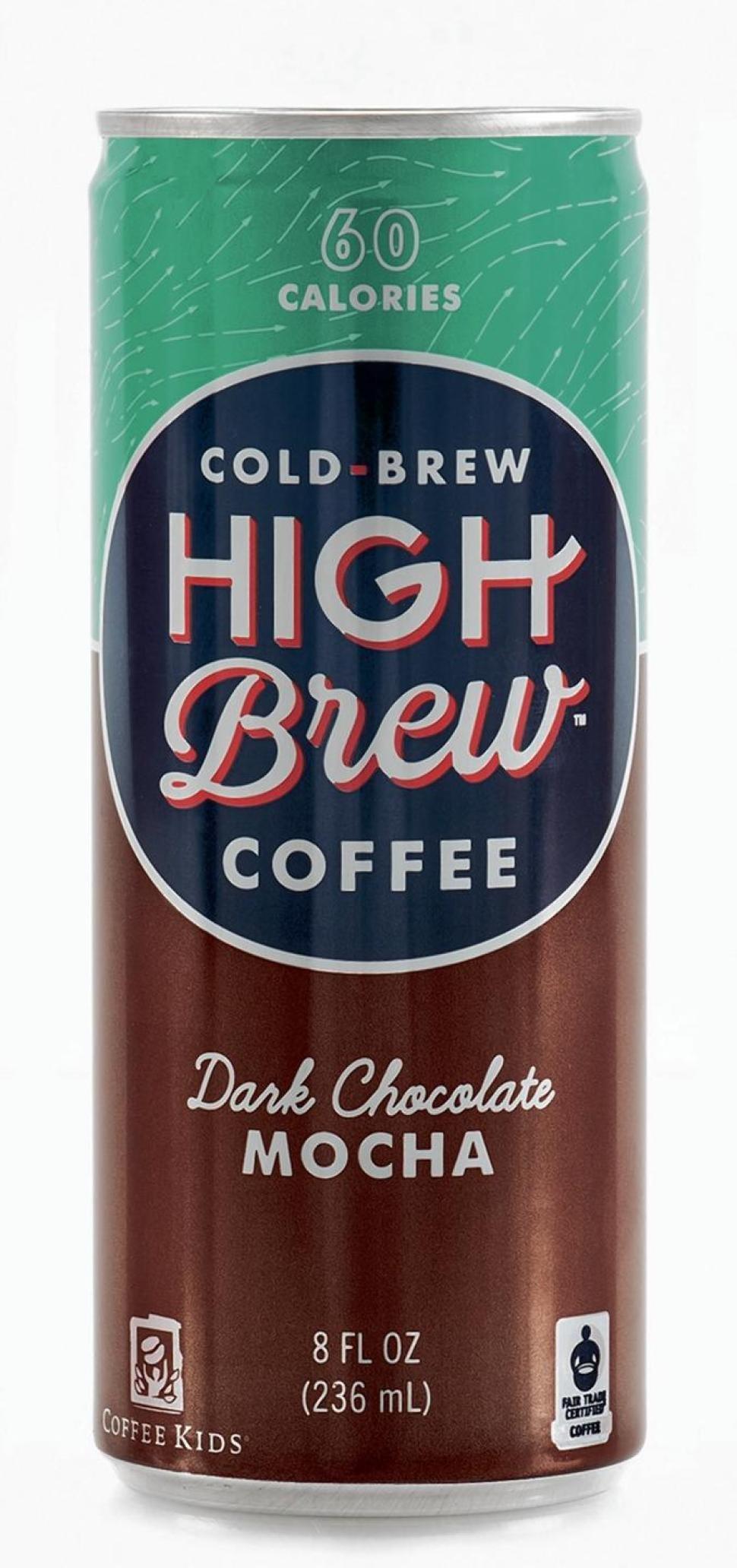 High Brew Coffee - Dark Chocolate Mocha - 8oz.(Pack of 20) by High Brew Coffee