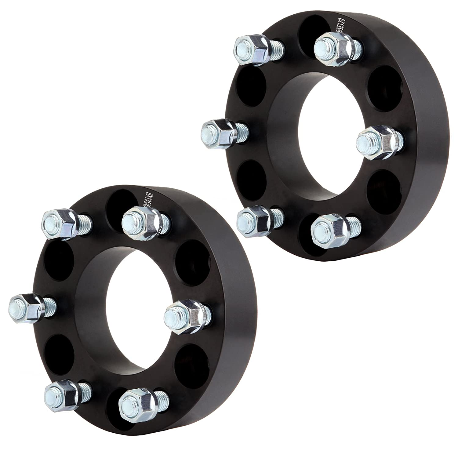 Wheel Spacers for Lincoln, ECCPP Wheel Spacer 6 lug 2X 1.5' 6x135 87.1mm 14x2 Studs for 2003-2014 Ford Expedition 2006-14 Lincoln Mark LT 03-14 Lincoln Navigator with 14x2 Studs 802108-5211-1055321