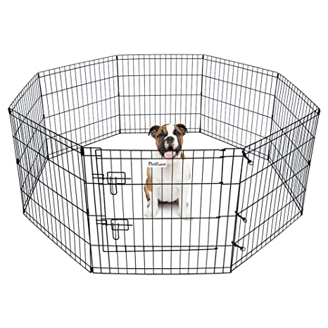 Delicieux Pet Dog Playpen Foldable Exercise Pen Metal Yard Fence/Portable For Travel  Camping 8 Panel