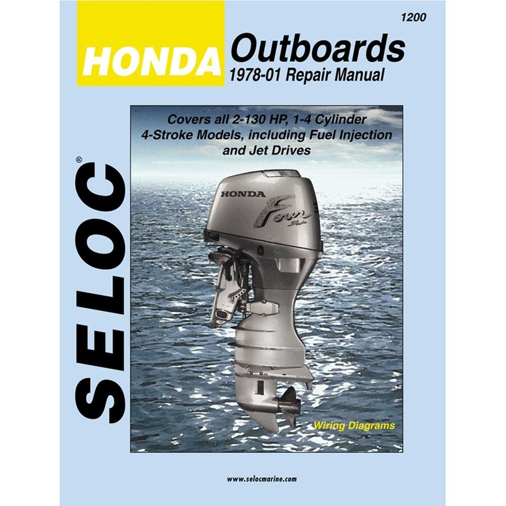 Honda Outboard Series Honda Outboards All Eng 1978-01 on